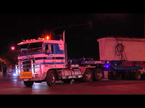 Australian Trucks : Hi Haul Kenworth K104s with Bridge Beams.  Part 2  Fri 17/05/13