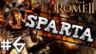 Total War: Rome II: Sparta Campaign #6 ~ Facing The