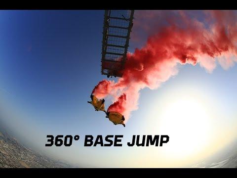 Burj Khalifa Base Jump 360°