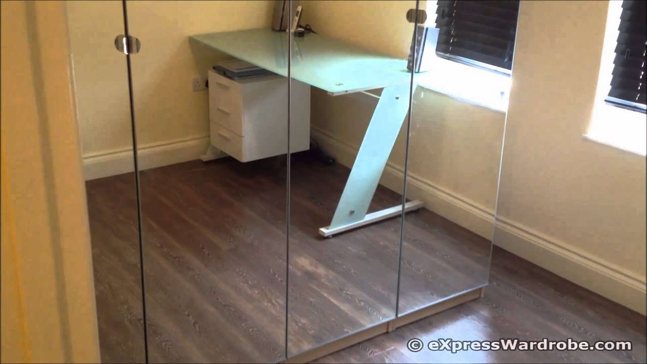 Ikea Pax Vikedal Mirror Door Wardrobe Design Youtube