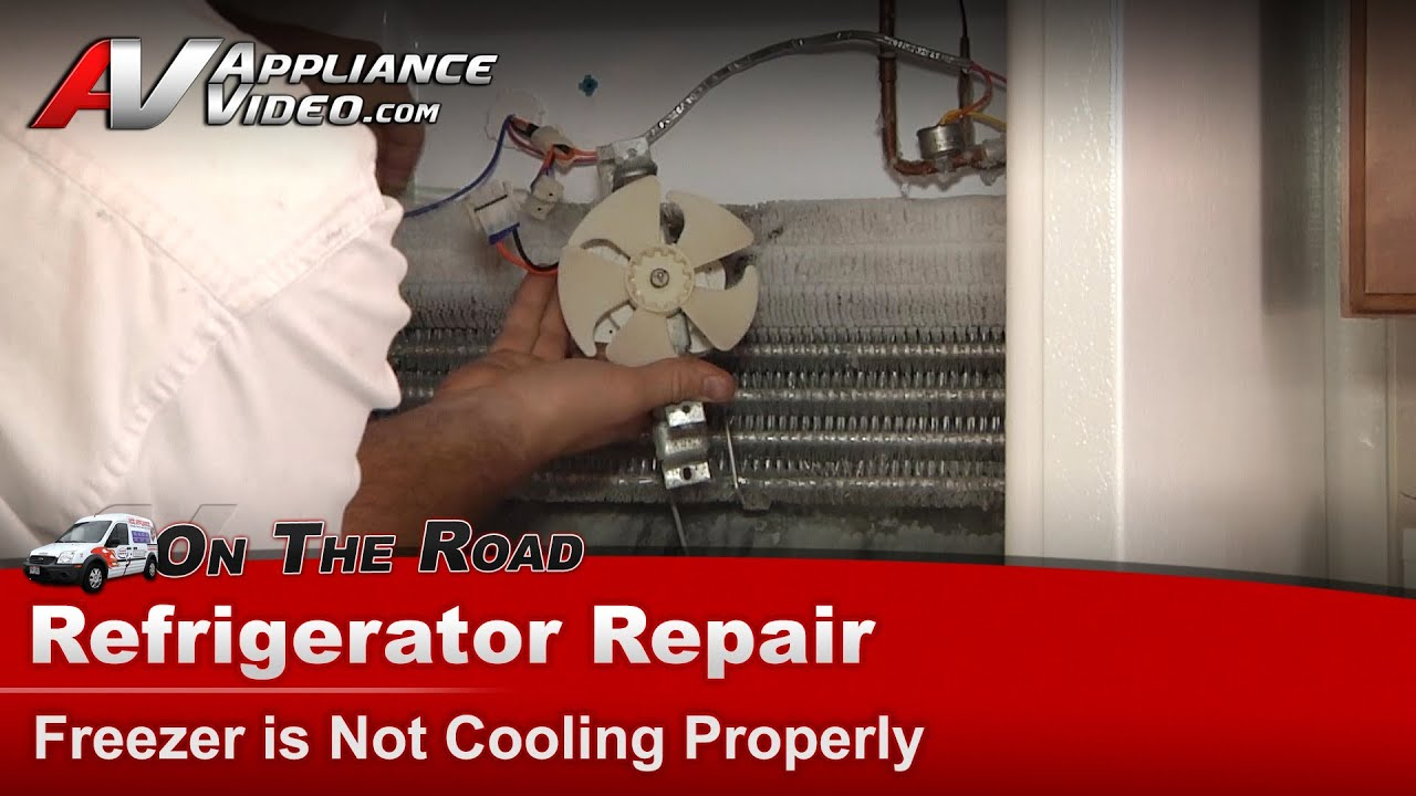 Hotpoint Refrigerator Repair - Freezer Is Not Cooling Properly - Hts16hbmfrww