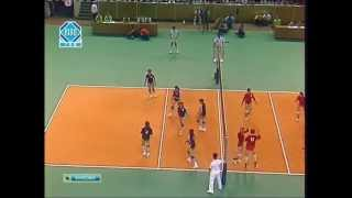 1980 Moscow Olympics Women's Volleyball Final Soviet