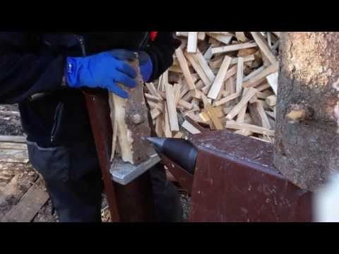 Klapikone, homemade Firewood Processor