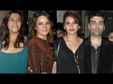 Ekta Kapoor's BIRTHDAY BASH: Ekta, Karan Johar, Huma PARTY HARD