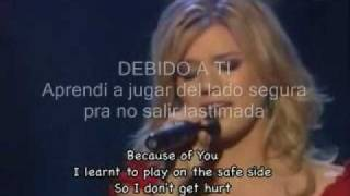 Kelly Clarkson-Because Of You Subtitulada Al Español