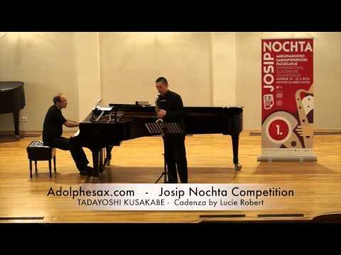 JOSIP NOCHTA COMPETITION TADAYOSHI KUSAKABE Cadenza by Lucie Robert