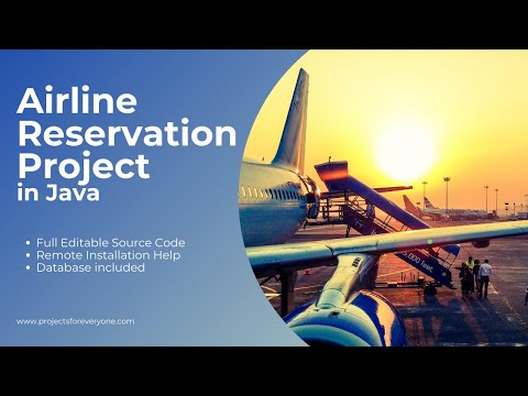airline reservation system project