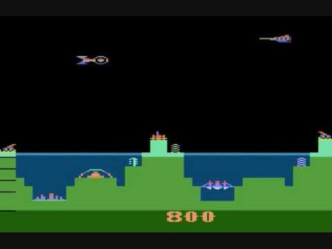 Screen shot of Atari's Atlantis