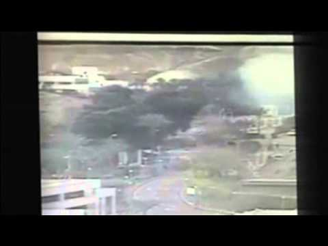Camera Captures Moment Of Sinai Bus Explosion
