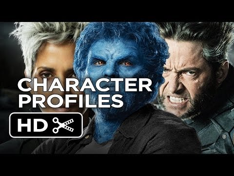 X-Men: Days of Future Past - Character Profiles (2014) - Jennifer Lawrence, Halle Berry Movie HD