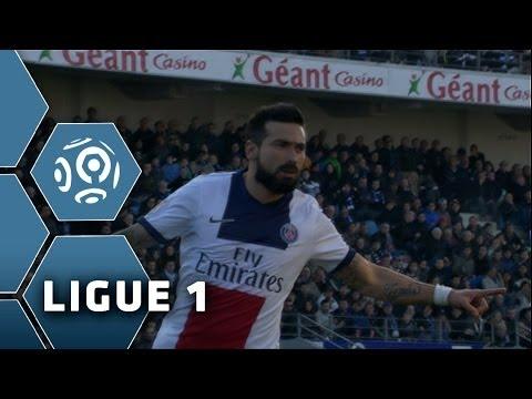 Goal Ezequiel LAVEZZI (19') - SC Bastia-Paris Saint-Germain (0-3) - 08/03/14 - (SCB-PSG)