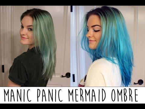 Manic panic blue