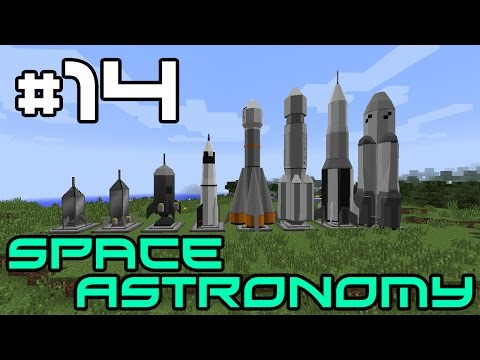 Minecraft Space Astronomy - Starting on Quests! #14