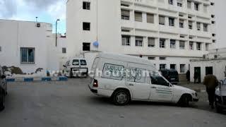 بالفيديو..لحظة وصول جثمان التلميذة اللي ماتت وسط قسم بتطوان إلى مركز التشريح الطبي |