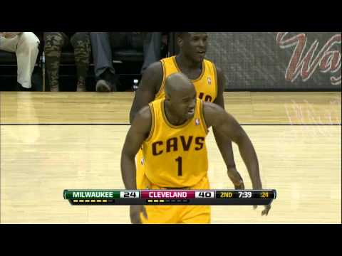 Jarrett Jack's Amazing Assist for Anthony Bennett's First NBA Field Goal