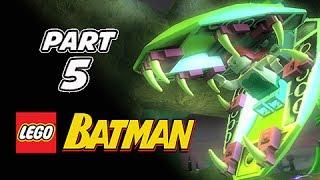 LEGO Batman Gameplay Walkthrough Part 5 - Poison Ivy (Let's Play Playthrough)