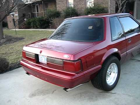 Jordan S 89 Mustang Notchback 331 Stroker Youtube