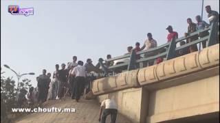 بالفيديو..شوفو أشنو وقع منين دخلات حافلة فطوموبيلة فكازا و تقلبات |