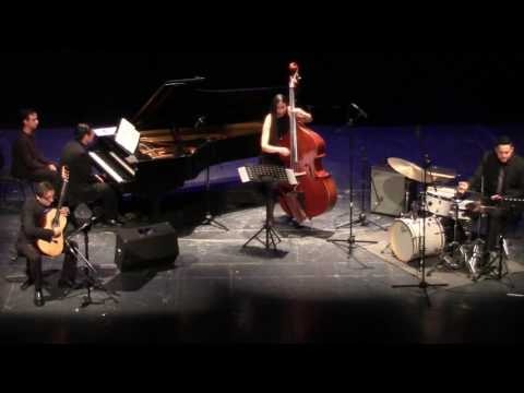 Bolling Concerto for classic guitar and piano jazz trio 7