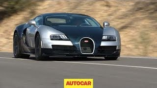 Bugatti Veyron Super Sport Driven By Autocar.co.uk
