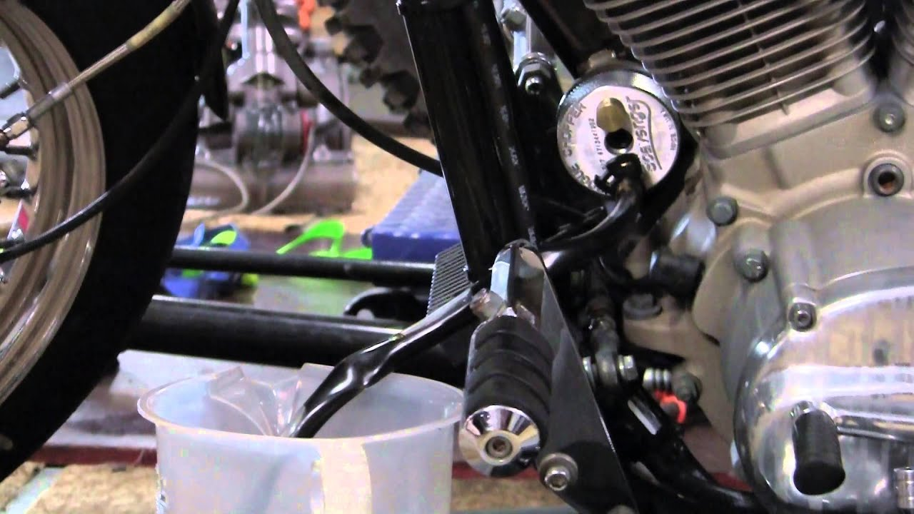How Use Starter Fluid On Motorcycle Kawasaki R