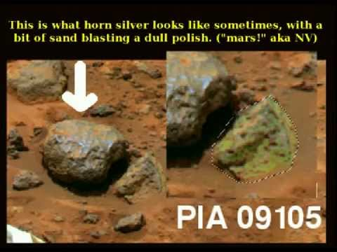 8 Mars Hoax Busted Water Gold Mine Wildlife NV machinery footprints photo fail Geology Feb 4 2014