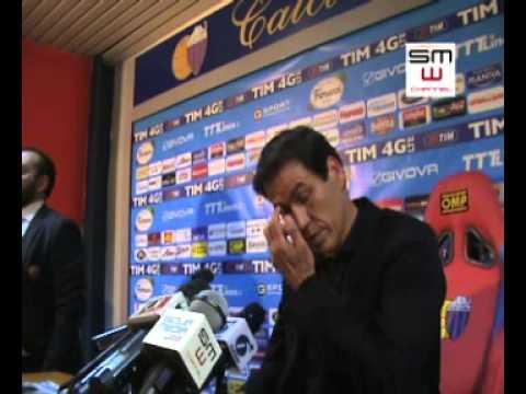 Catania - Roma - 04/05/2014 - Rudi Garcia in sala stampa