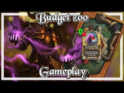 Gameplay: Super Budget Zoo Kobolds And Catacombs (Hearthstone Guide How to Play)