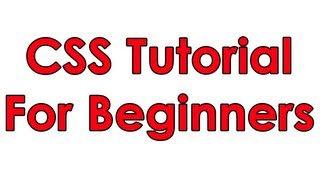 CSS Tutorial Pt 1 Basic Layout
