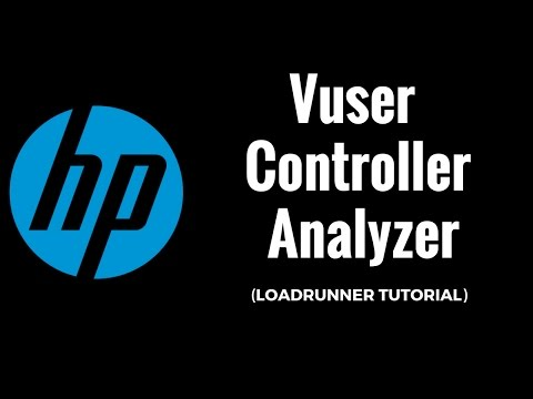 Loadrunner Tutorial 3 : Vuser , Controller , Analyzer