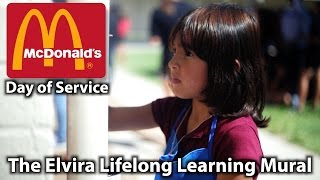 The Elvira Lifelong Learning Mural VIDEO