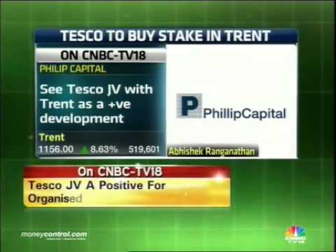 Tesco-Trent JV a positive for retail sector: PhillipCapital