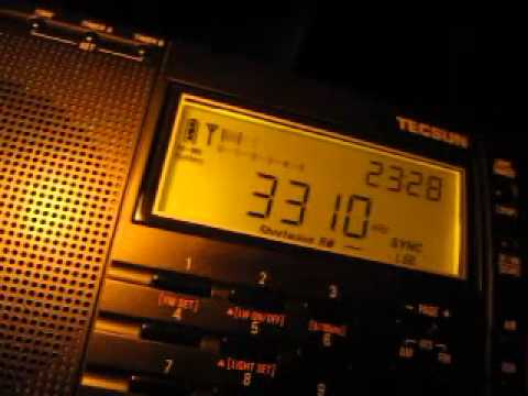Radio Mosoj Chaski 3310 kHz received in Germany on Tecsun PL-660
