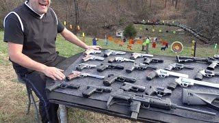 Disparando Armas de Fuego Calibre 22 hasta el 50