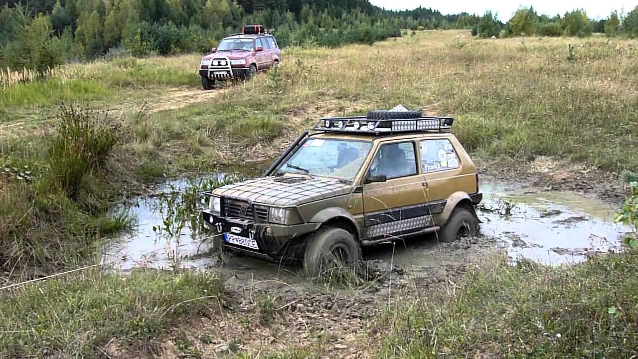 panda 4x4 off road winch youtube