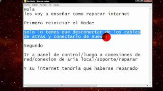 Como Reparar Internet