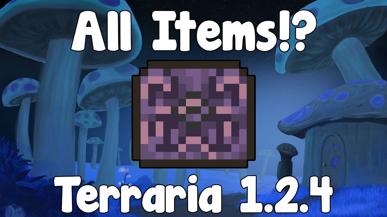 All 1 2 4 items only map terraria 1 2 4 gullofdoom youtube