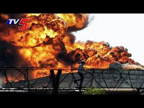 Massive Fire at textile market in Surat : TV5 News