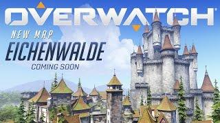 Overwatch - Új Térkép Előzetes - Eichenwalde