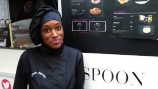 Fati Niang - créatrice de Black Spoon, 1er food truck africain à Paris
