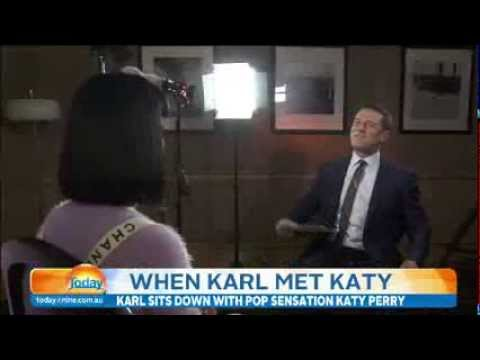 Karl interviews Katy Perry