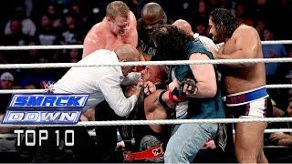 Top 10 mejores momentos de Smackdown 21/11
