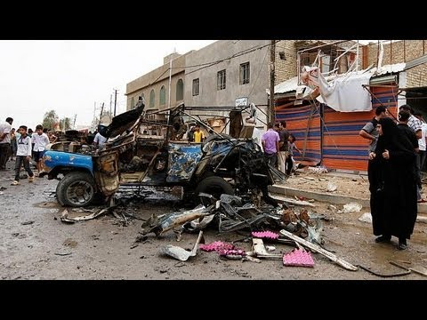 Violence in Iraq hits deadliest level in five years