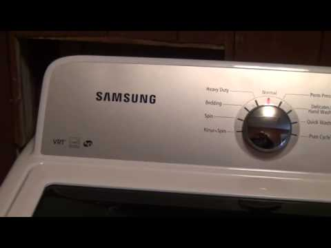 Samsung Washer He. Top Load Fail .