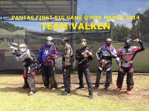 PANTAS Big Game 30th March 2014 (Team Valken)