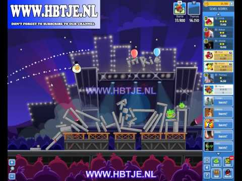 Angry Birds Friends Tournament Level 1 Week 69 (tournament 1) Rock in Rio no power-ups