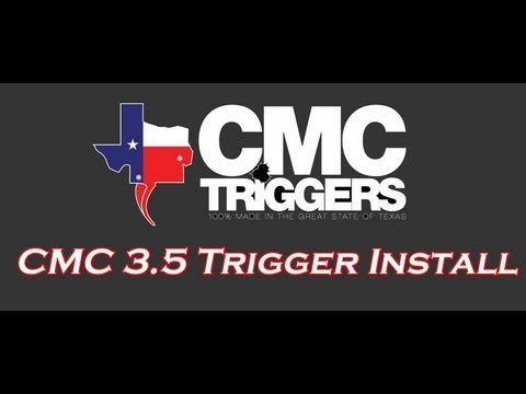 CMC Trigger Group Install and Review: Part 1 [HD]