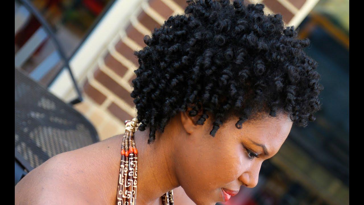 thetruemetalmaniac: Heatless Hairstyles For quick Black Hair