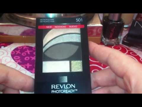 Revlon Photoready primer + eyeshadow metropolitan 501
