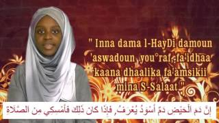 Ce que la femme ne peut pas faire lors des menstrues * Rappels des Petits Musulmans